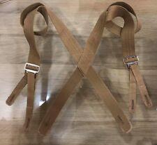 "M1887 Khaki Trouser Suspenders - Max Length 52"""