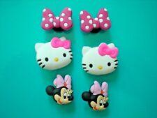 Clog Shoe Charm Plug Accessorie WristBand Hello Kitty Minnie Mouse