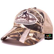 RIG'EM RIGHT WATERFOWL MAX-5 CAMO LOGO TRUCKER MESHBACK HAT BALL CAP