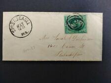Pennsylvania: Spread Eagle 1880 (circa) Cover, Dpo Chester/Delaware Co