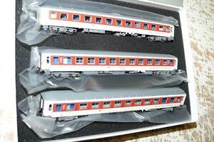 HS L.S. Models 79 054 Wagenset 3 teilig  CNL Pegasus  DB AG Ep VI 875 cmSp N