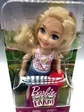 New Barbie Chelsea Sweet Orchard Farm Doll Blonde Doll Kelly Friends Mattel