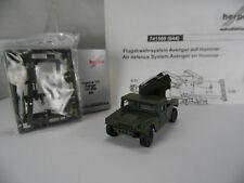 ht358, Herpa Fertigmodell  741569 HUMMER Humvee + Avenger air defence US / Roco