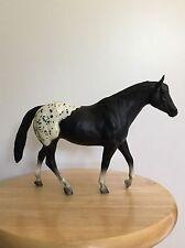 BREYER #233 STOCK HORSE MARE IN BLACK BLANKET APPALOOSA