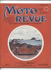 Moto Revue N°83 : 1er septembre 1921 ,le cyclecar Bédélia , la Metro Tyler