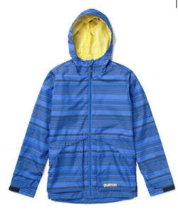 Burton Tech Dover Snowboard Jacket Boys size XL dryride durashell blue