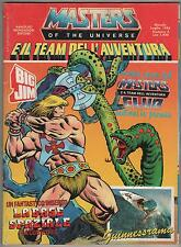 MASTERS OF THE UNIVERSE e il team dell'avventura N.4 comics magazine mondadori