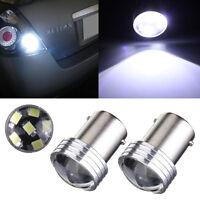 2x 1156 BA15S P21W 6 LED 2835 COB SMD Bombillas Car Reverse Turn Tail Light 12V