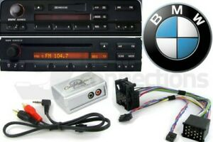 BMW Z8 Mini Cooper AUX in iPod iPhone MP3 player adapter adaptor interface kit e