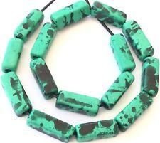 Select 50 or 100 Beads 6x2mm Mykonos Greek Ceramic Mini Tube Beads Rose #465