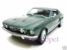 MAISTO 31166 1967 67 FORD MUSTANG GTA FASTBACK 1/18 GREEN
