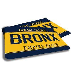 New York License Plate New York Cities Designs Indoor Door Mat Rug TWO RUGS