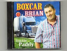 BOXCAR BRIAN - TRUCKIN'  PADDY - CD -  Includes Boxcars New Holland Song
