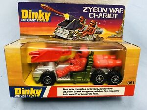 DINKY TOYS ZYGON WAR CHARIOT NUOVO MADE IN ENGLAND VINTAGE