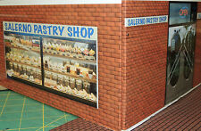 ONE DUAL ENTRANCE PASTRY SHOP BUILDING KIT G GAUGE RAILROADING DIORAMA