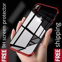 iPhone XS Max Clear Case Cover  and FREE Screen Protector