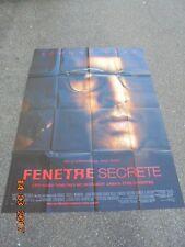 """Affiche / Poster de Cinéma / Stephen KING / FILM  """"FENETRE SECRETE """" 120CMX160CM"""