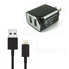 2.1 Amp AC Wall Charger Adapter & USB Data Cable For Apple iPod touch 5th gen.