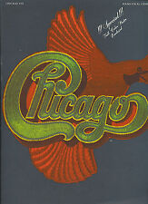 CHICAGO Chicago VIII  rare 1975 sheet music songbook (comes with great poster)