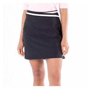 Nivo Diva Black Size 8 Ladies Golf Tennis Leisure Skort NEW NWT