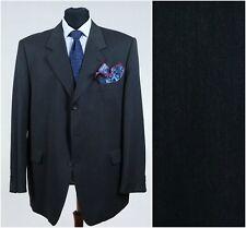 Mens Super 100s Wool German BECKER Dark Grey Jacket Blazer SIZE 2XL, XXL, UK 48