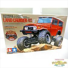 TAMIYA 1/10 RC Car Series No.405 Toyota Land Cruiser 40 F/S EMS Japan