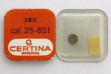 CERTINA  original parts  Ref. 260 for caliber 25-651 minute wheel. New Old Stock