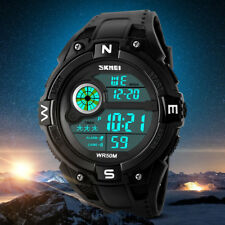 SKMEI LED Digital Casual Watch Men Sports Watches Male Wristwatches Waterproof