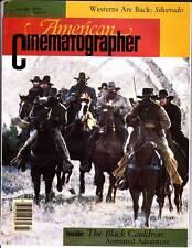 AMERICAN CINEMATOGRAPHER July 1985 - SILVERADO, Black Cauldron, BLOOD SIMPLE