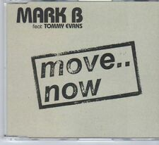 (DY265) Mark B ft Tommy Evans, Move ... Now - 2004 CD