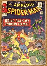 AMAZING SPIDERMAN 27 VG 4.0  RARE KEY 5th GREEN GOBLIN STAN LEE STEVE DITKO COVE