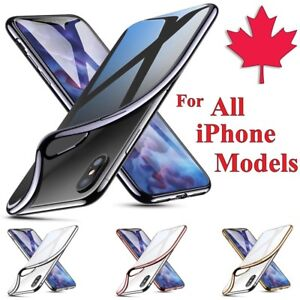 Premium Chrome Electroplate Cover Case For iPhone SE 6 7 8 Plus X XR 11 Pro Max