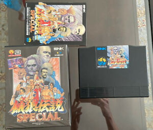 Fatal Fury Special Neo Geo AES CART Japanese Excellent Complete