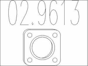 JOINT D'éTANCHéITé (TUYAU D'éCHAPPEMENT) POUR PEUGEOT 206+ 1.4 I,307 1.6 16V