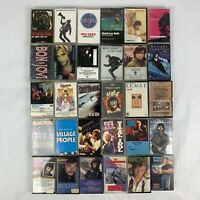Lot of 30 Cassette Tapes Bon Jovi Rolling Stones Billy Idol David Bowie & MORE!