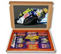 Valentino Rossi Motorbike 24 Bar Cadbury Chocolate Hamper Personalised Gift Box