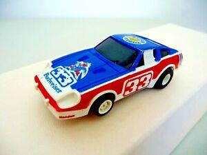 HO Slot Car, JDP,  Datsun 240Z, ? Budweiser Sponsor,  Vintage     [19569]