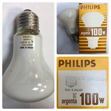 Philips ARGENTA SOFTONE BLANCO Lámpara E27 100w 220-235v Suave Caliente Luz
