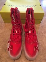 Under Armour Highlight MC Men's Football Cleats Size 13 NEW Red MSRP $130