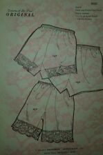 Delores St Paul Size 5 Modest Sewing Pattern Flare Leg Petti Pant Vintage 6937