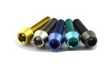 M6 Titanschrauben konisch DIN912 gold schwarz blau grün 15mm - 50mm 20 25 30 35