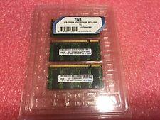 Lot of 3, 2 GB 200Pin DDR2 SODIMM PC2-6400/CL6 Momory RAM