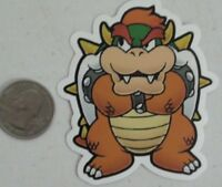 Bowser sticker super mario bros king kuppa skate cell laptop bumper decal