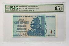 More details for zimbabwe pmg gem unc 65 epq 100 trillion dollars