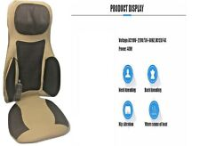 New Heated Back Seat Padded Massage Cushion For Chair Car Massage Seat Cover 12v