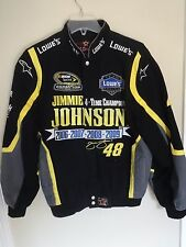 Lowes Racing 4 Time Champ Jimmie Johnson 48 Premium Denim Coat Men S JH Design