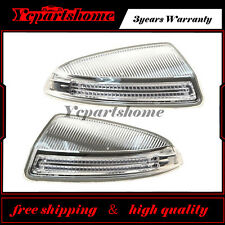 A Pair Door Mirror Turn Signal Lamps Lights For 2009-2010 MB ML GL W164