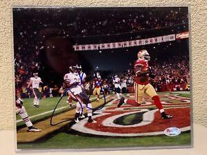 Frank Gore Signed San Francisco 49ers 8x10 Photo PSA/DNA