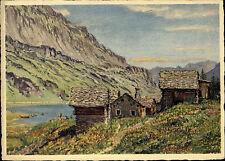 Maloja Kanton Graubünden Schweiz Künstlerkarte Spendenkarte für Schwerhörige