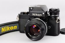 【Excellent++】Nikon F2 Photomic A Black Ai 50mm f/1.4 w/strap from Japan #2225